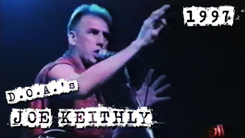 D.O.A.'s Joe Keithly Lee's Palace 5/9/1997